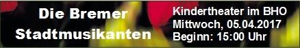 Kindertheater Die Bremer Stadtmusikanten